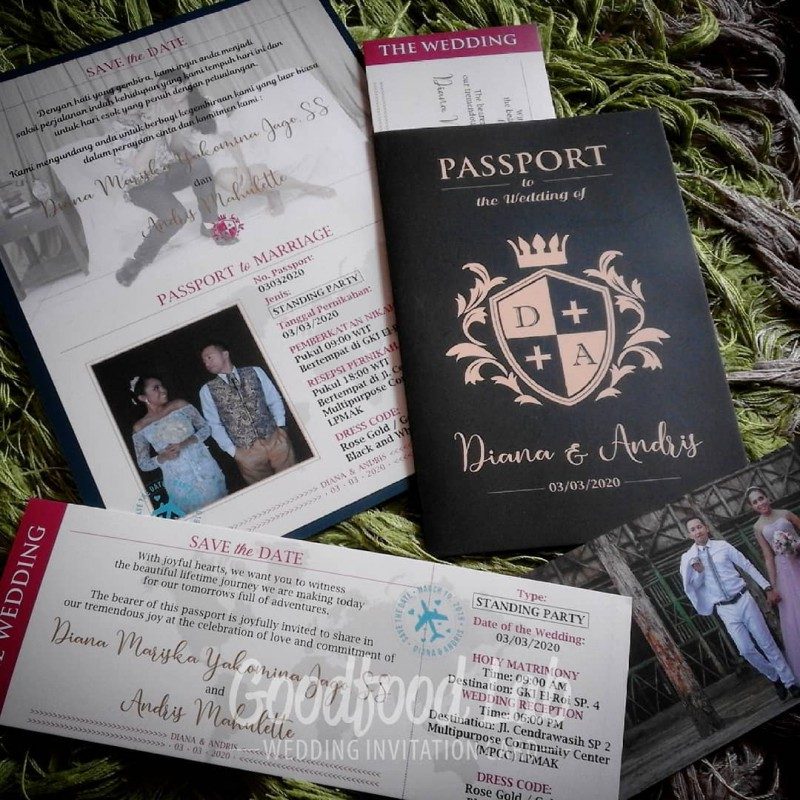 Passport To The Wedding Of Diana Amp