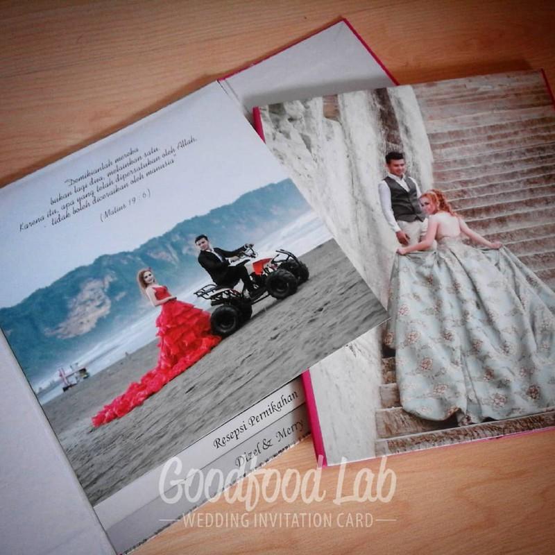 Hardcover Lipat Tiga Undangan Desain Bisa Request