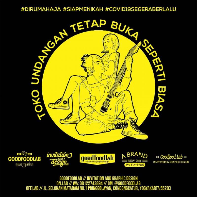 Toko Undangan Dirumahaja Covid19segeraberlalu Semangat Indonesiabisa Socialdistancing