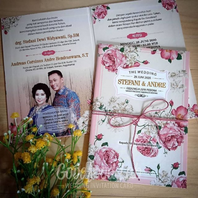 Hardcover Lipat Dua + Tali The Wedding